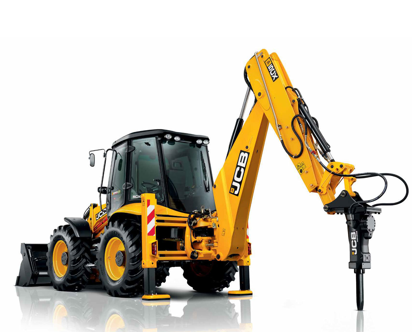 Hire hydraulic rock breakers on rent